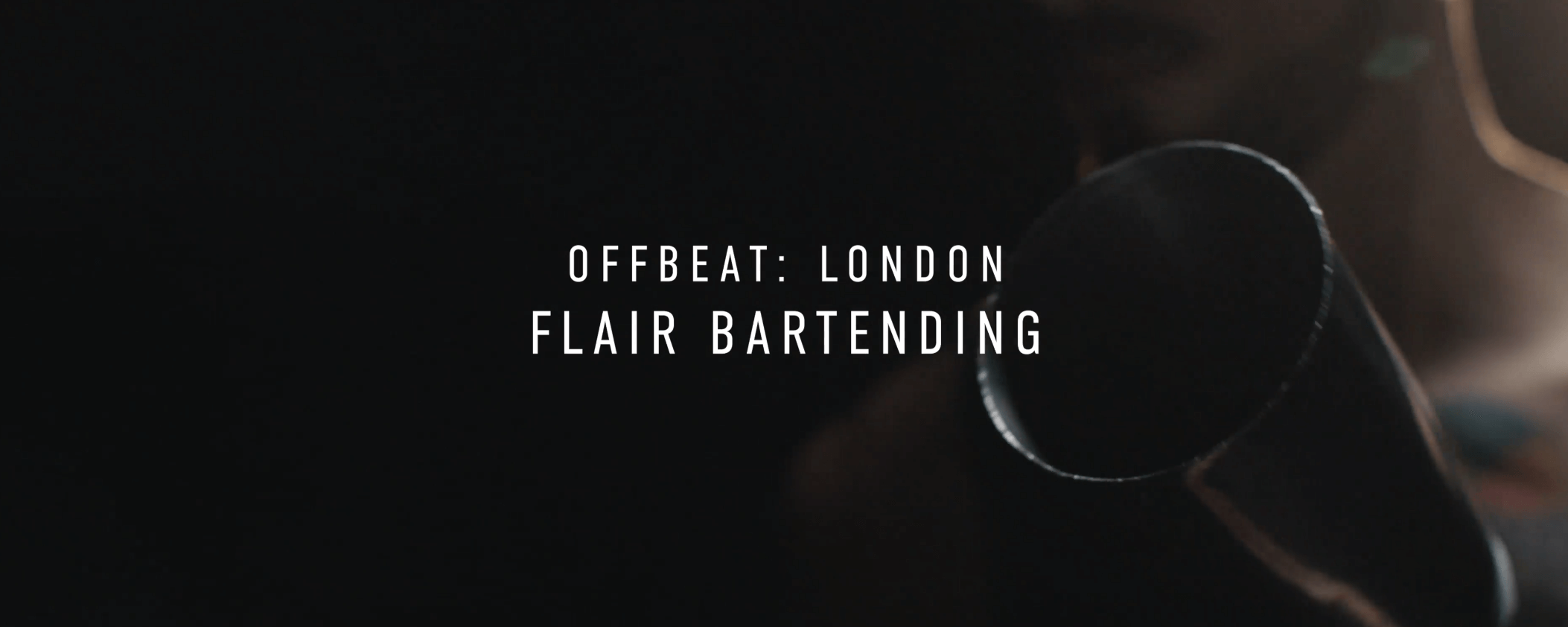 Flair bartending: It's a thing…