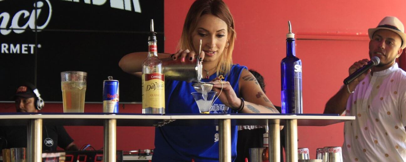 The DaVinci Skilled Flairbartender WFA Grand Slam, Mexico